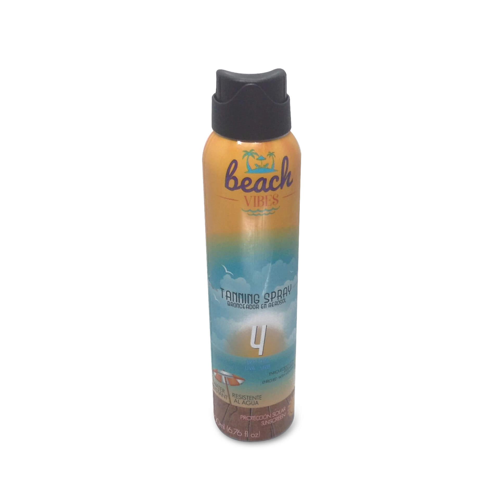 Beach Vibes Bronceador en aerosol FPS 4