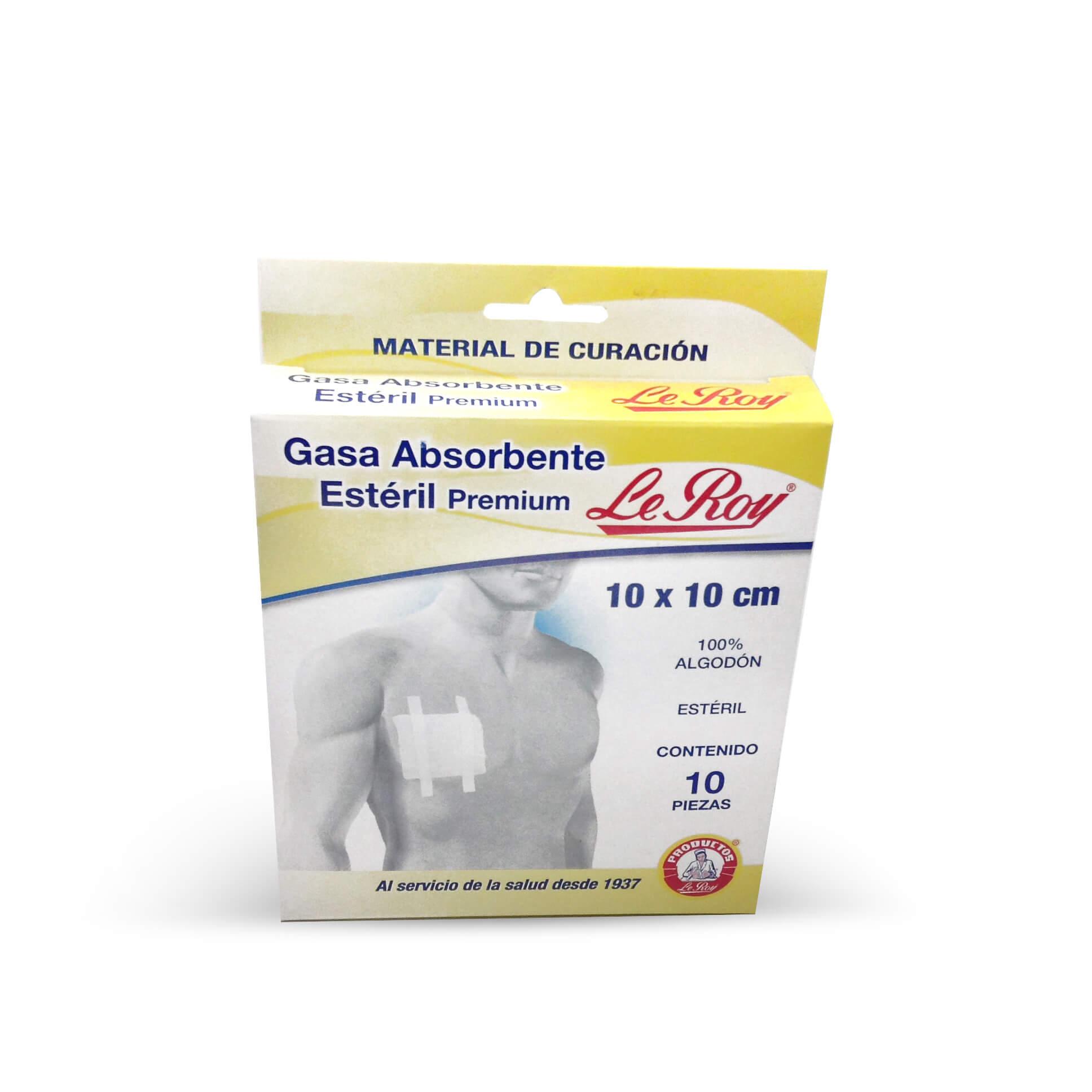 Gasa Absorbente Estéril Premium Le Roy